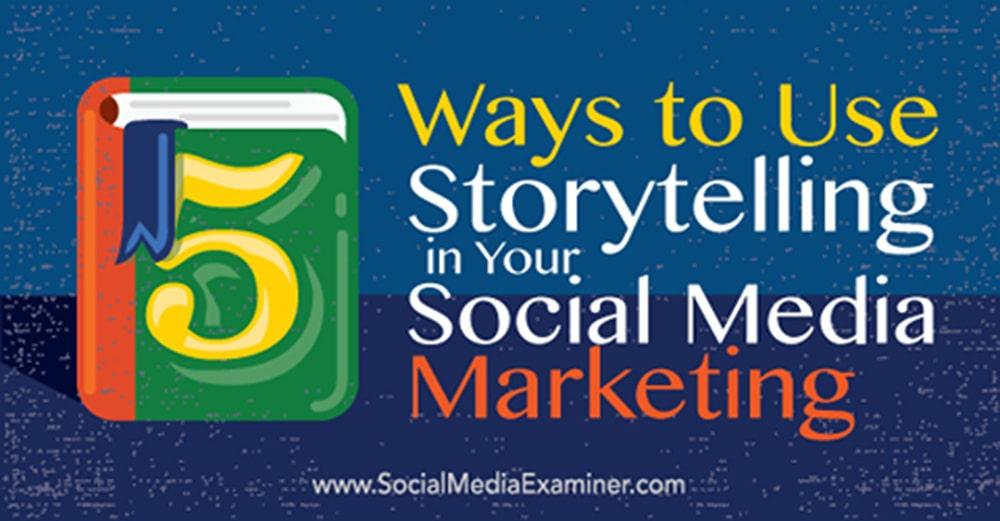 Storytelling SocialMedia Milano